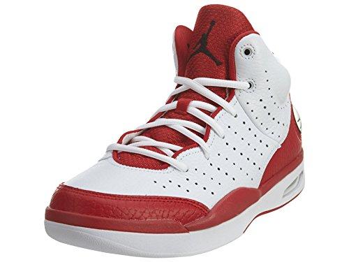 Nike Men's Jordan Flight Tradition Basketball Shoes, Black 102 WhiteRed