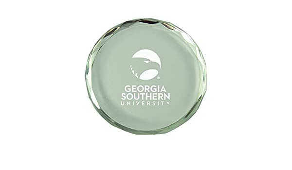 Inc Georgia Southern University-Crystal Paper Weight LXG