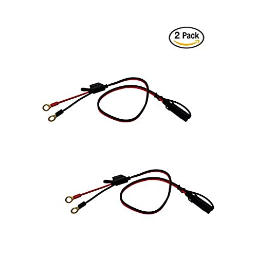2 Pin Quick Disconnect Amazon. Tetrateknica Motobasics Series Rhs01 12v Ring Terminal Harness With Black Fused 2pin Quick Disconnect Plug 2 Feet 16 Gauge Copper Wire 10a Fuse. Wiring. 2 Pin Quick Disconnect Wire Harness Oven At Scoala.co