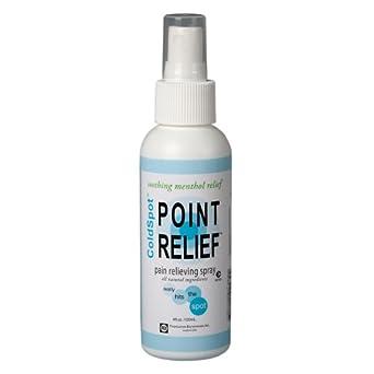 Point Relief 11-0701-12 ColdSpot Spray, 4 oz Bottle (Case of 12)