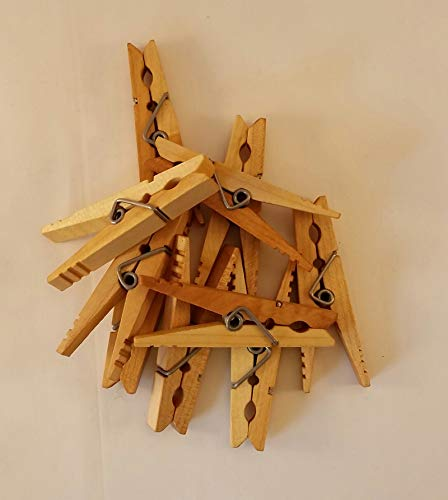 - Kevin's Quality Clothespins (Maple, natural) Sold in Sets of 10