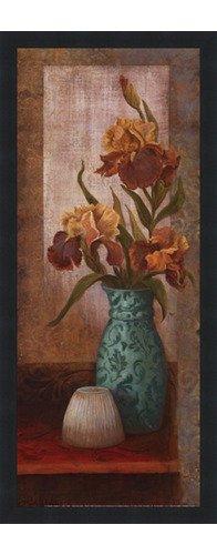 (Poster Palooza Framed Spiced Jewels II - Mini- 8x20 Inches - Art Print (Classic Black Frame))