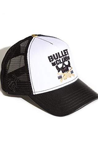 Red Monkey Bullet Club 008 White Fashion Trucker Hat