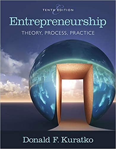 Entrepreneurship Theory Process And Practice Donald F Kuratko