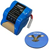 x8905 shark battery - HQRP Extra High Capacity Rechargeable Battery 4.8v 3.0Ah for Euro-Pro Shark Sweeper VX1 / X8905 / V1930 / V1700Z Cordless Floor-and-Carpet Cleaner Replacement plus Coaster