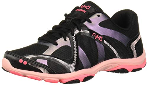 RYKA Women's Influence Cross Training Shoe, Black Multi, 10.5 M US