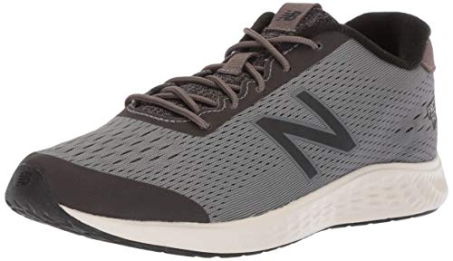 New Balance Boys' Arishi Next V1 Running Shoe, Dark Gull Grey/Black, 4.5 M US Big Kid
