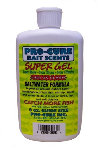 Procure Gel - Pro-Cure Saltwater Formula Super Gel, 8 Ounce