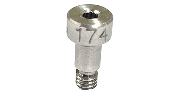 Standard Tolerance 17-4 PH Stainless Steel Shoulder Screw Socket Head Cap Hex Socket Drive #6-32 Thread Size 1 Shoulder Length 5//32 Shoulder Diameter Meets ASME B18.3