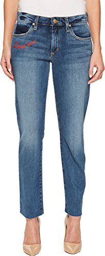 Joe's Jeans Women's Smith Midrise Straight Ankle, CLENNA/Blue, 27 from Joe's Jeans