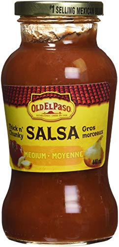 Old El Paso Thick N' Chunky Salsa Medium, 440 Milliliter for sale  Delivered anywhere in Canada