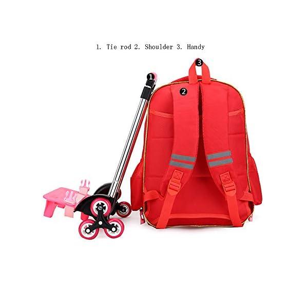 zaino con ruote trolley scuola carino per scuola elementare 4 spesavip