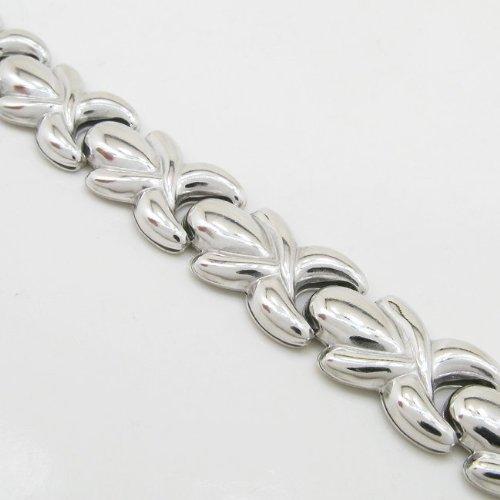 bracelet femme Argent-SB2 7,5 cm de long et 10 mm de large