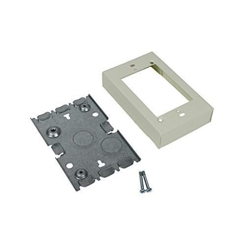 Legrand - Wiremold V5748S Shallow Switch and Receptacle Box Starter Box Plate