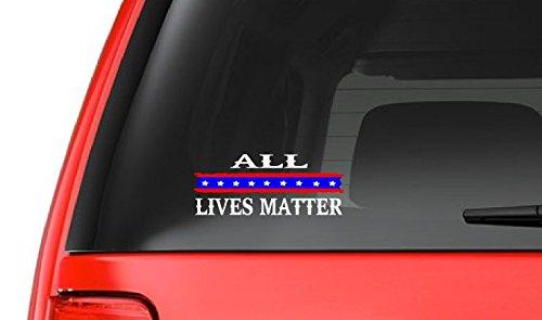 All Lives Matter (M18) USA Vinyl Sticker Car/truck American Window Decal