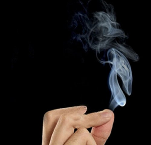 10pcs/lot Magic Smoke from Finger Tips Magic Trick Surprise Prank Joke Mystical (Dentist Halloween Prop)