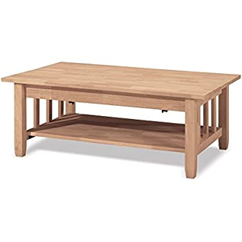 Mission tall coffee table with lift top beauty - How tall is a coffee table ...