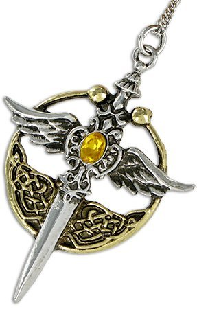 Lost Treasures of Albion Pendants Charms Talisman Amulet (St. Michael Relic for Chivalry & Honor)