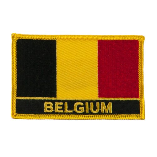 europe flag embroidered patch