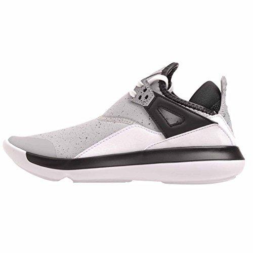 Image of Jordan Nike Kids Fly 89 BG, Wolf Grey/Wolf Grey-Black, Size 6