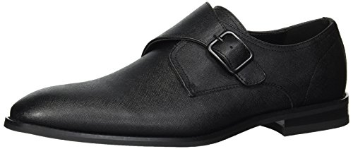 Unlisted by Kenneth Cole Men's Libra Monk-Strap Loafer Black 11 M US