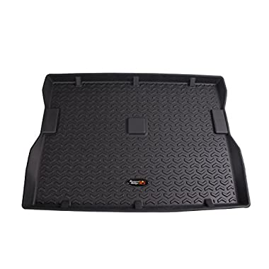 Rugged Ridge All-Terrain 12975.22 Black Cargo Liner For Select Jeep CJ7, Scrambler and Wrangler Models