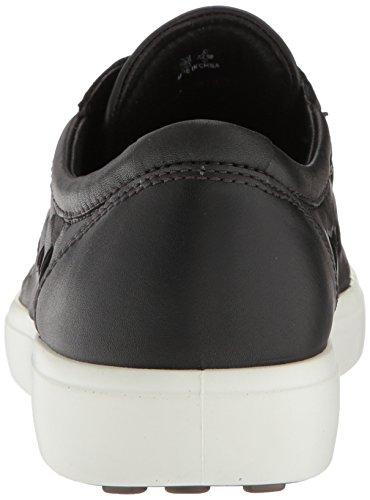 Basses Ecco 7 Men's Soft Noir Sneakers black Homme AATqPC