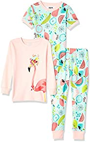 Spotted Zebra Unisex 3-Piece Snug-Fit Cotton Pajama Set