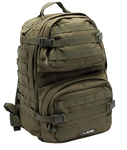 - LA Police Gear 3 Day Tactical Backpack for Hunting, Military, Camping, Hiking, and Survival 2.0-GRN
