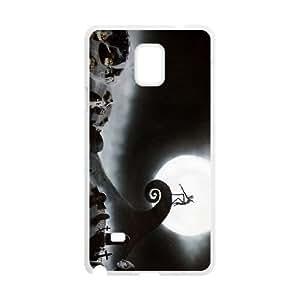 Samsung Galaxy Note 4 White phone case Disney Cartoon Nightmare Before Christmas EYB3570141