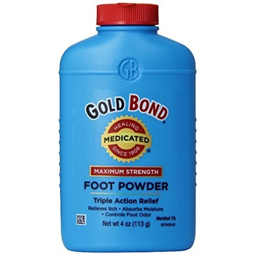 Gold Bond Foot Pwd Size 4z Gold Bond Medicated Foot Powder Triple Action Relief