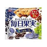毎日果実 プルーン&ブルーベリー 3枚×2枚 10個セット