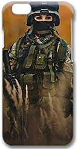 Female Soldiers Apple iPhone 6 Case, 3D iPhone 6 Cases Hard Shell Cover Skin Cases