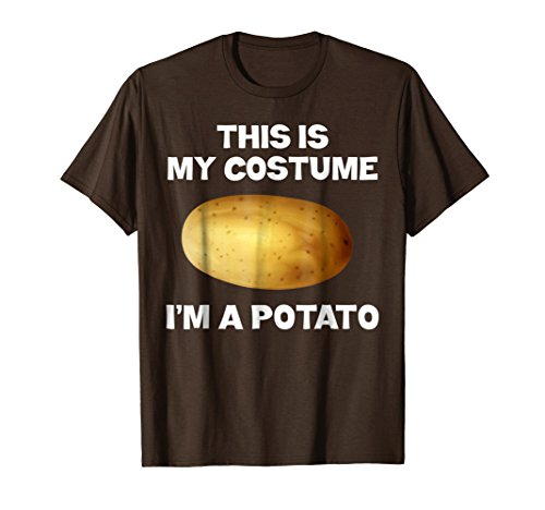 I'm A Potato This Is My Costume T-shirt KId's Potato (Group French Fries Costume)
