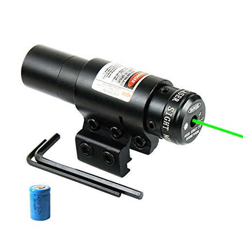 Lanboo-Green-Laser-Sight-with-1120mm-Picatinny-Rail-Mount-and-Pressure-Switch-Laser-for-Pistol-Handgun-Airgun-Rifle-etc