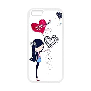 "HEHEDE Phone Case Of uk illustration For iPhone 6 Plus (5.5"")"