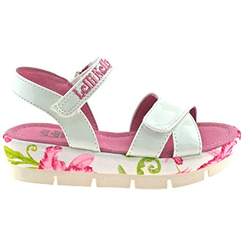 Lelli Kelly LK9438 (FA01) Peggy Vernice Bianco Sandals-29 (UK 11)