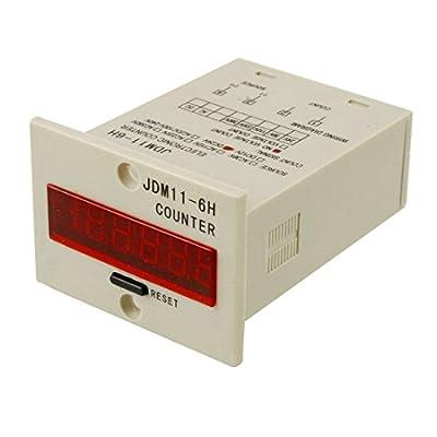 GUWANJI JDM11-6H 6 Digits Display Electronic Counter Relay Control AC 220V
