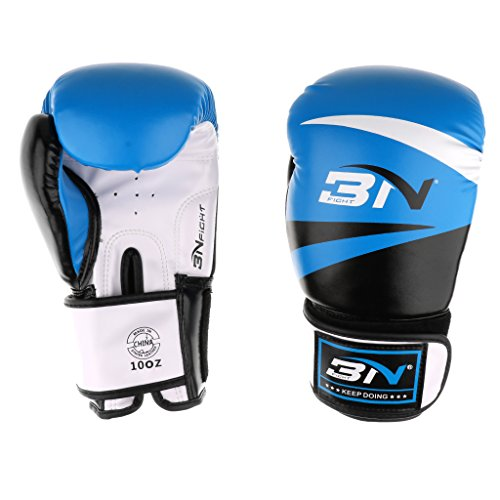 Dovewill 2Pcs Adult Boxing Training Gloves Punch Muay Thai Fitness Kickboxing Mitts Muay Thai Martial Arts