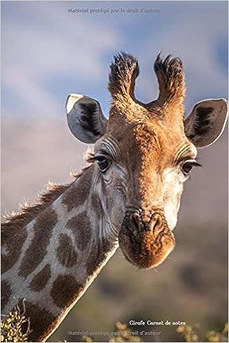 Girafe Carnet notes: