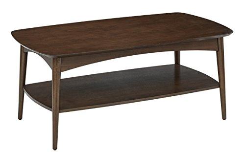 OSP Designs CPH12-WA-osp Copenhagen Coffee Table, Walnut