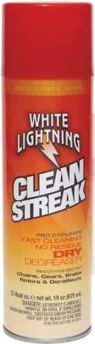 - White Lightning Clean Streak - Bicycle Degreaser - Aerosol