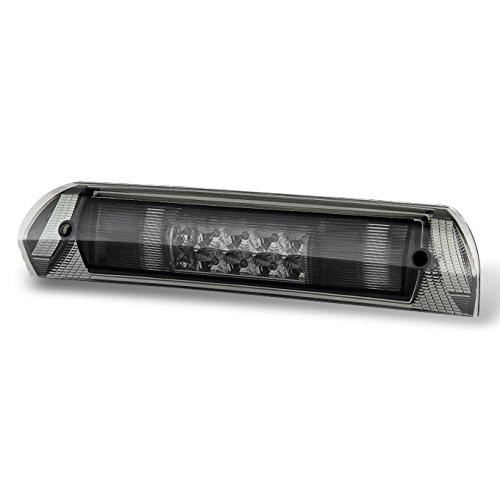 Smoked Led Rear Lights (Dodge Ram 1500 2500 3500 Pickup Truck Smoked Smoke Rear LED 3rd Third Brake Lamp Tail Cargo Lights)