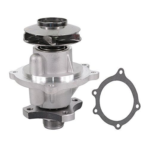 DOICOO Water Pump Engine Fit 8245769520 for Buick Rainier Chevy Colorado Trailblazer GMC Canyon Envoy Hummer Isuzu Ascender Oldsmobile Bravada Saab 2002-2004 2005 2006 2007 2008 2009 2010 2011 2012 (Water Pump Blazer Chevy)