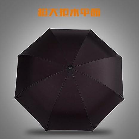 kinine kazbrella Creative c-handheld paraguas de marcha atrás inversa doble sol plegable paraguas: Amazon.es: Deportes y aire libre