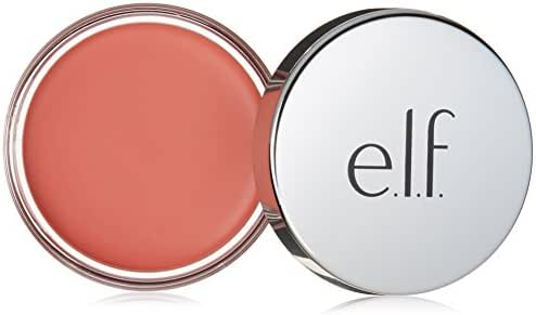 e.l.f. Cosmetics Beautifully Bare Cheeky Glow Blush, Cream to Powder Formula Creates a Natural Glow, Rose Royalty