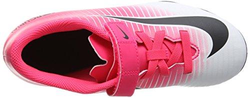 Nike Jr Mercurial Vortex Iii (V) Fg, Botas de Fútbol Unisex Niños Rosa (Racer Pink/black White White)
