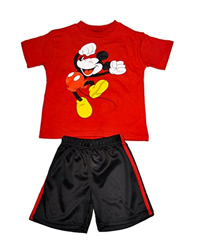 Disney Boys 2 Piece Shorts Set (6, ()