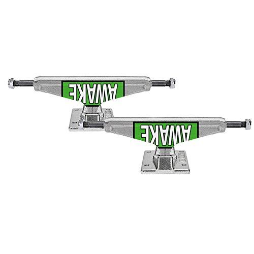 絶妙シェル発明ベンチャー (Venture) MOTTO GREEN V-HOLLOW 5.25HI スケボー トラック スケートボード