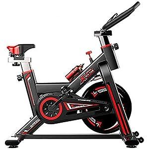 41dEa84hqjL. SS300 Indoor Spinning Bicycle Ultra-Quiet Esercizio Bike Home Bicicletta Sport Attrezzatura per Il Fitness Aerobica Training Device, può Essere regolata in Base alle proprie,Nero